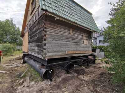Ремонт фундамента дачного дома