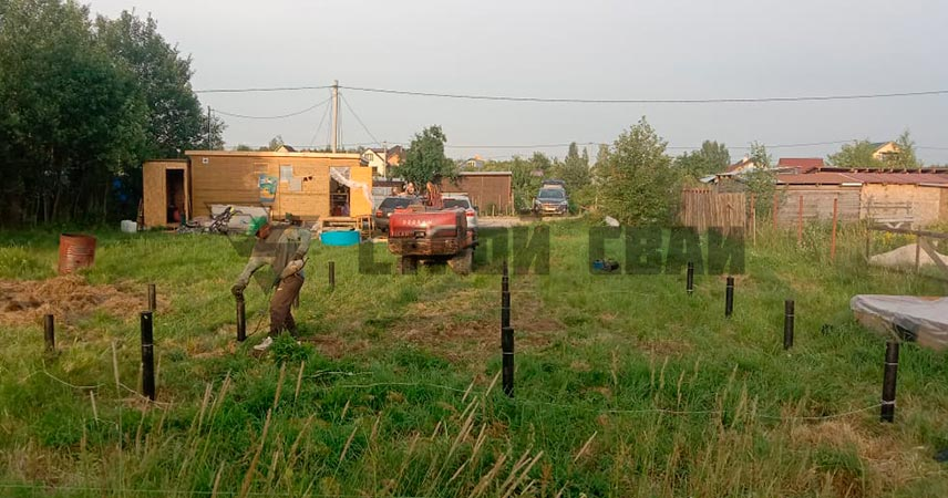 в поселке Ульяновка